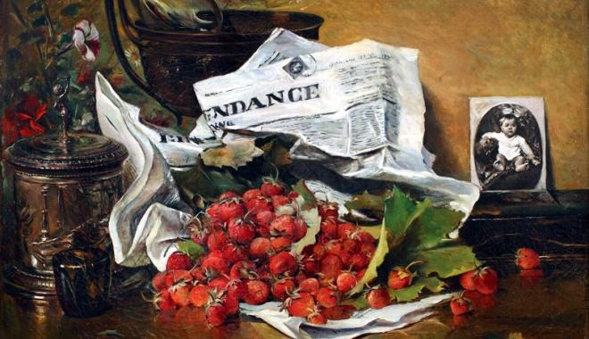Foto: Expoziţie Theodor Aman, la Muzeul de Artă