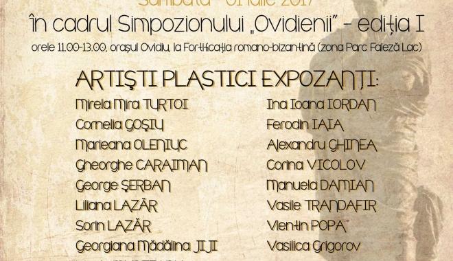 Foto: Omagiu poetului Ovidius