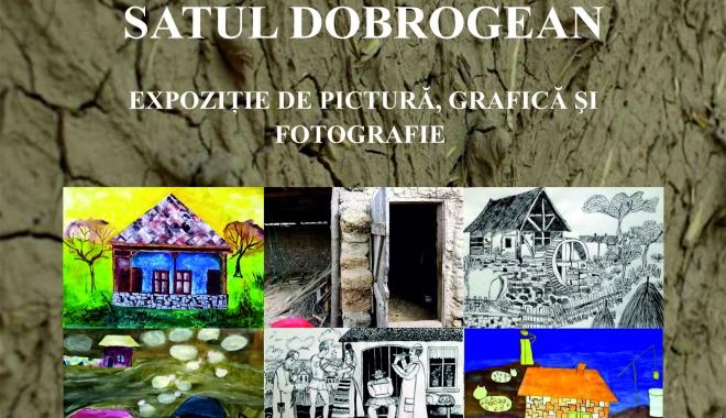 Foto: Expoziţie inedită la Biblioteca Judeţeană: Satul dobrogean, în viziunea elevilor