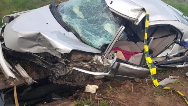 Foto: Doi copii au murit într-un grav accident rutier. Șoferul vinovat, nevătămat