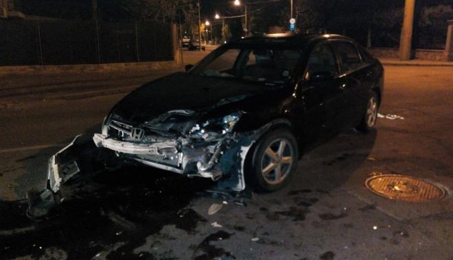 Foto: GALERIE FOTO. GRAV ACCIDENT RUTIER LA CONSTAN�A, PRODUS DE UN �OFER BEAT