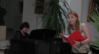 Foto: Soprana Derya Agca, în concert la Salzburg