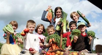 Foto: Alimentaţia corectă îi ajută pe copii să lupte împotriva răcelilor