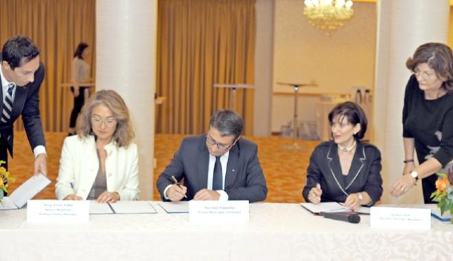 Foto: Edilul Decebal Făgădău a semnat acordul cu BERD pentru un serviciu de asistenţă tehnică