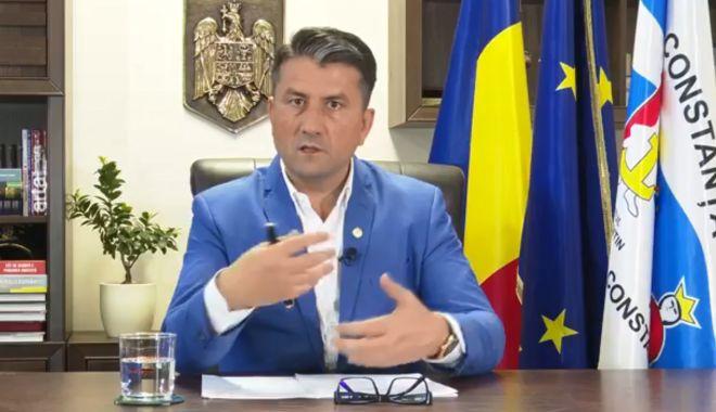 """Foto: VIDEO / Decebal Făgădău: """"La Constanța, parcarea s-a plătit, se plătește și se va plăti!"""""""