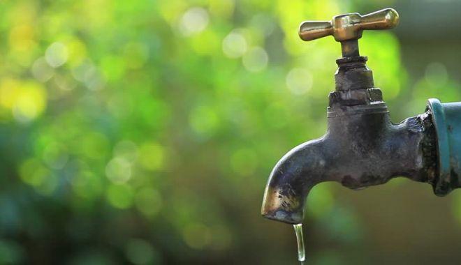 Foto: Atenție, se oprește apa în Mangalia!