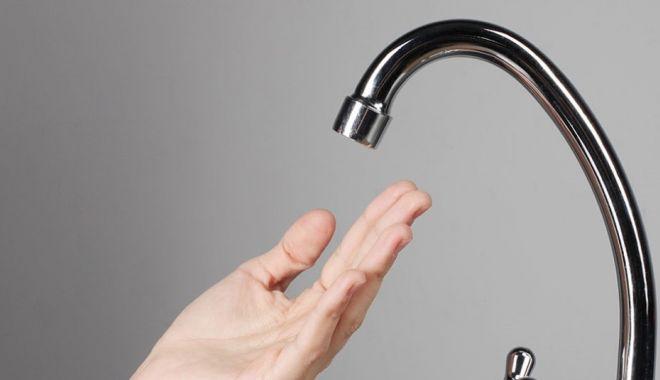 Foto: Fără apă la robinete, până la ora 17,00