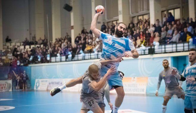 """Foto: Fără emoţii! HC Dobrogea Sud înfruntă """"lanterna"""" clasamentului"""