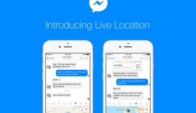 Foto: VIDEO / Facebook introduce o funcţie nouă în aplicația Messenger