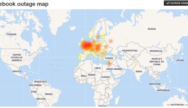 Foto: Utilizatorii Facebook nu se pot conecta la conturile lor