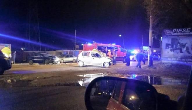 Foto: IMAGINI ŞOCANTE! Grav accident rutier la Constanţa. UN TÂNĂR A MURIT PE LOC. UPDATE