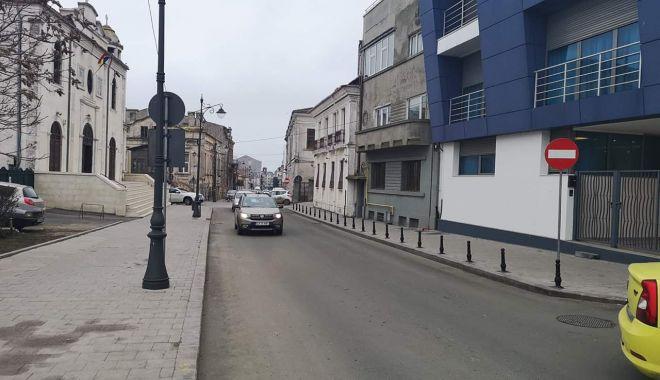 Foto: Zona peninsulară a Constanței, pietonală!  Situațiile în care este permisă circulația rutieră
