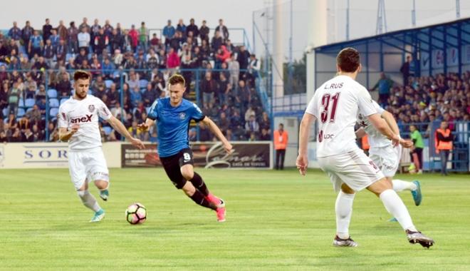 Foto: FCSB şi FC Viitorul, faţă-n faţă în ultimul derby al anului