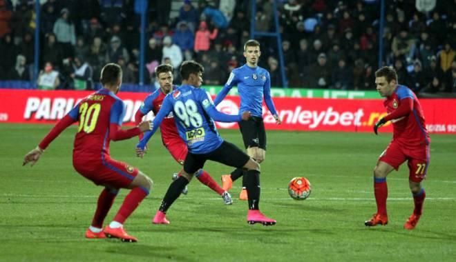 Foto: FC Viitorul, înfrângere (1-3) în meciul cu Steaua