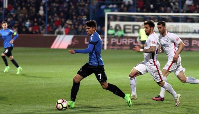 Foto: FC Viitorul luptă cu Astra pentru un loc în semifinalele Cupei României