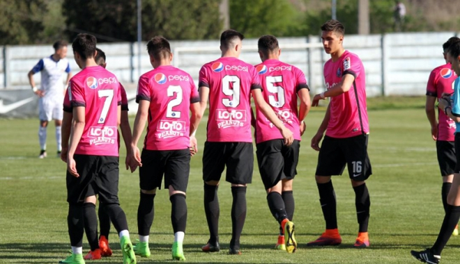 Foto: FC Viitorul învinge pe Dinamo, în derby-ul echipelor secunde