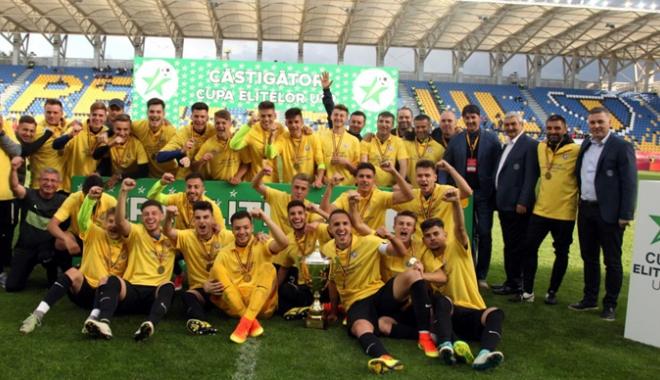 Foto: Un nou trofeu ajunge la Constanţa! FC Viitorul U19 a cucerit Cupa României