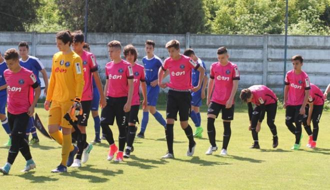 Foto: FC Viitorul U15 ratează turneul final al Campionatului Naţional