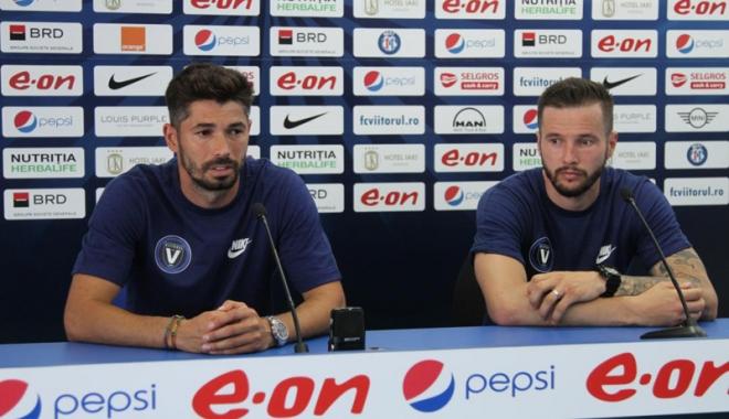 Foto: FC Viitorul şi-a prezentat achiziţiile, înaintea plecării în Turcia