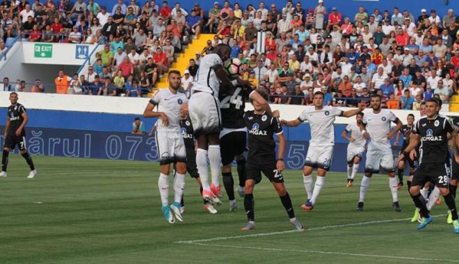 Foto: FC Viitorul pierde duelul din deplasare, cu CFR Cluj