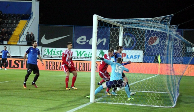 Foto: FC Viitorul, trei goluri şi trei puncte cu Sepsi Sf. Gheorghe