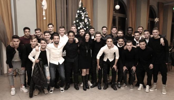 Foto: FC Viitorul, petrecere înaintea ultimului meci din 2017