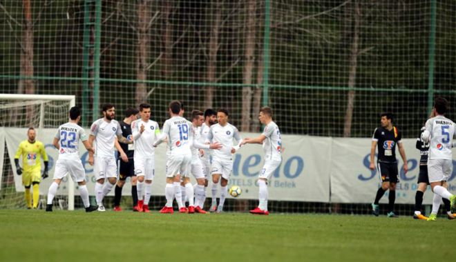 Foto: FC Viitorul a încheiat cu brio cantonamentul din Turcia