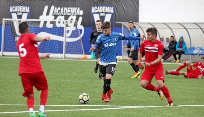 Foto: FC Viitorul U17 şi U19, victorii în Cupa României