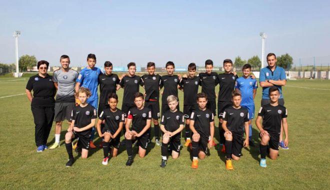Foto: FC Viitorul U13 va lupta, la Ovidiu, pentru accederea la turneul final