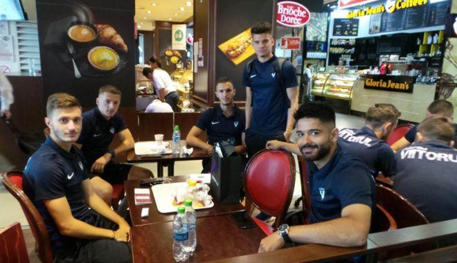 Foto: FC Viitorul a plecat în cantonamentul din Polonia