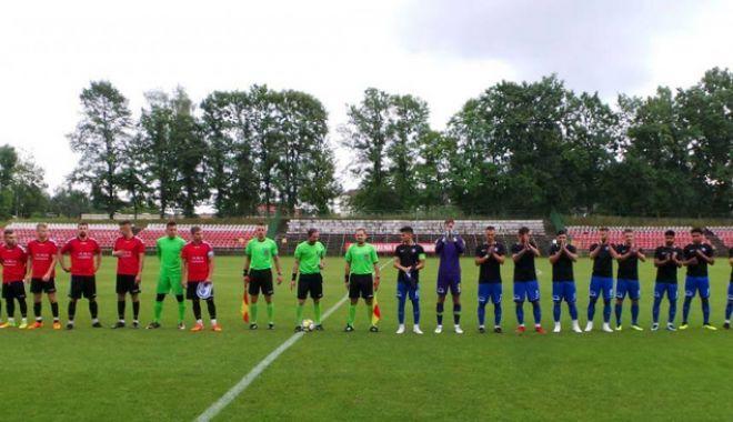 Foto: FC Viitorul, victorie în primul meci amical al stagiului din Polonia