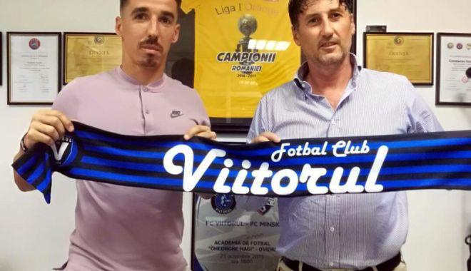 Foto: FC Viitorul a transferat un mijlocaş de la ACS Poli Timișoara