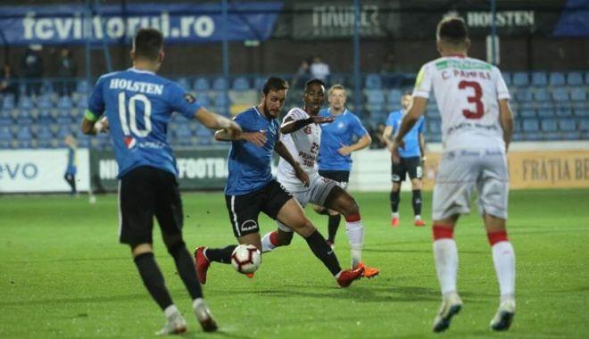 Foto: FC Viitorul joacă meciul  cu FC Hermannstadt la Cluj