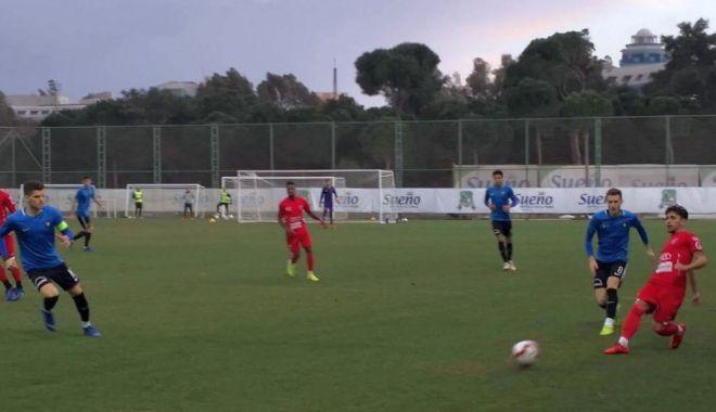 Foto: FC Viitorul, învinsă în ultimul amical al cantonamentului de la Belek