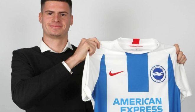 Foto: FC Viitorul l-a vândut pe Tudor Băluţă la Brighton Albion