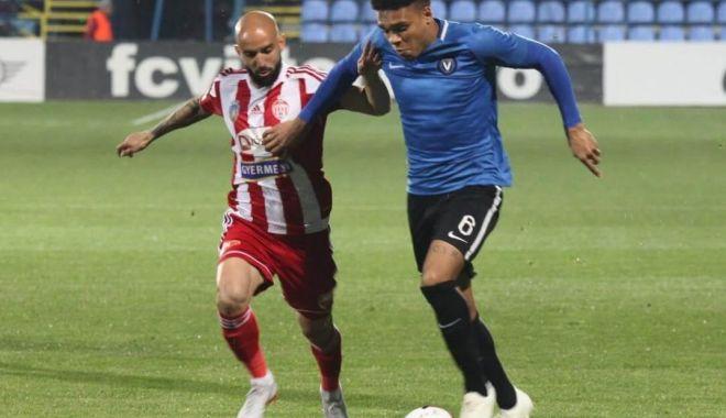 Foto: FC Viitorul, cu rezervele contra FC Hermannstadt, în Cupa României