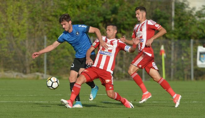 Foto: FC Viitorul a învins Sepsi OSK Sfântu Gheorghe cu 3-1 în play-off
