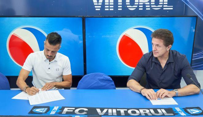 Foto: FC Viitorul și-a prezentat noul manager