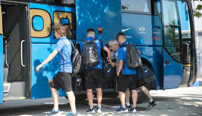 Foto: FC Viitorul, o nouă aventură europeană. Luxemburg, prima escală