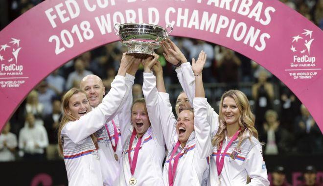 Foto: Tenis, FedCup / Cehia vs Canada, în play-off-ul pentru menţinerea/promovarea în Grupa Mondială