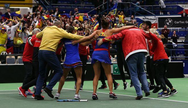 Foto: Fed Cup. Unde vor juca tricolorele semifinala cu Franţa