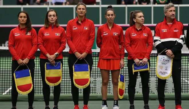 Foto: Fed Cup. Meciul Franţa - România se va disputa la Rouen