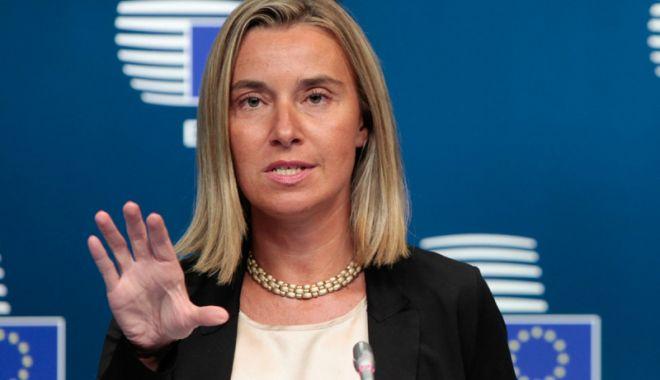 Foto: Federica Mogherini anunţă că nu vrea un nou mandat după 2019
