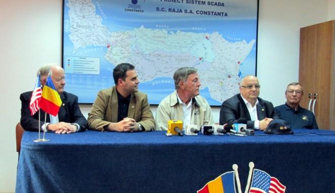 Foto: Felix Stroe, preşedinte onorific al Consiliului român al Ligii Navale a Statelor Unite