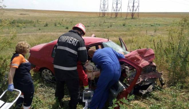Foto: Femeie decedată  după un accident  provocat de un şofer beat