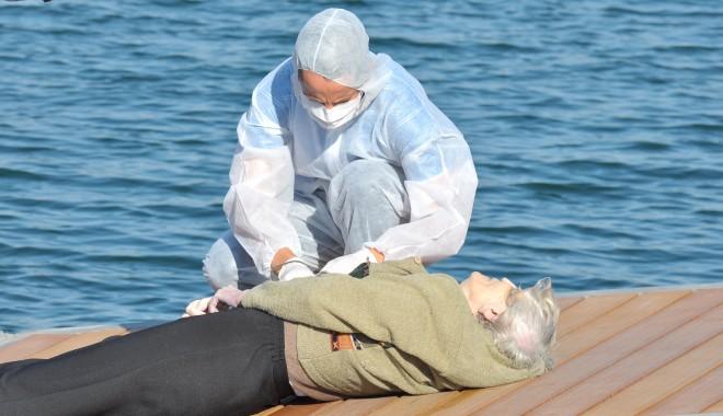 Foto: Femeia găsită înecată în portul turistic Tomis a fost identificată