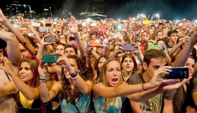 Foto: Festivalul Neversea transformă Constanţa în fortăreaţă!