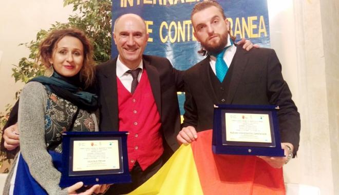 Foto: Lelia Rus Pîrvan, premiată la Sulmona