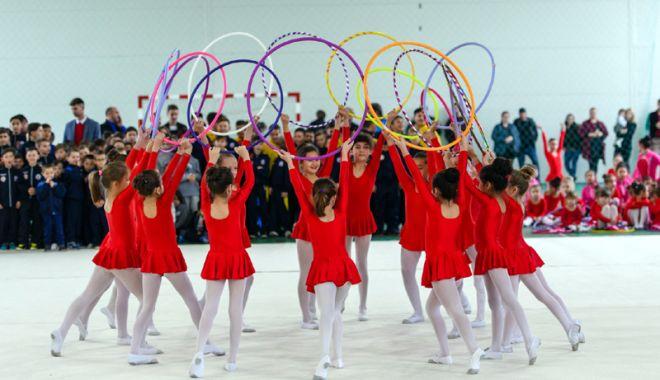 Foto: Festival de Gimnastică Ritmică pentru Copii, la Cumpăna