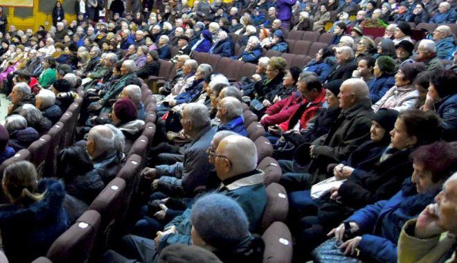 Foto: Festivitate de premiere a seniorilor Constanței